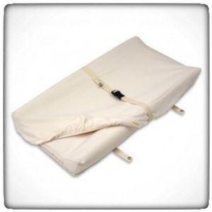 BabiesRUs Ivory Organic Cotton Changing Pad Cover